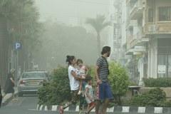 Burza piaskowa na Bliskim Wschodzie. Mniej walk w Syrii