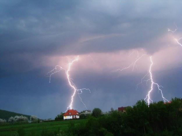 Burza w okolicach Limanowej, fot. Karol Śliwa /Łowcy Burz /materiały prasowe