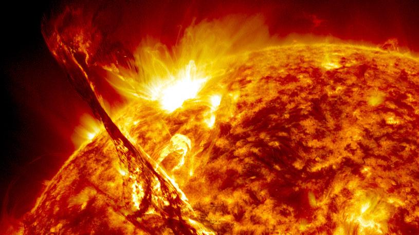 Burze słoneczne mogą być znacznie silniejsze niż nam się wydaje /NASA