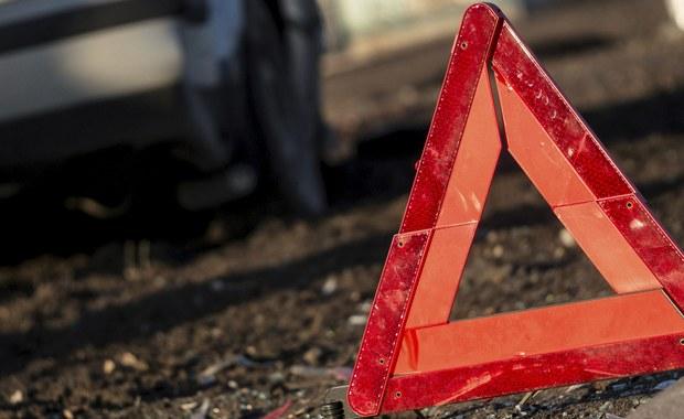 Bus zderzył się z ciężarówką w Michałowie. Rannych zostało 8 osób