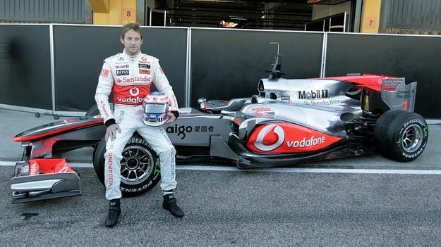 Button zasilił McLarena /AFP