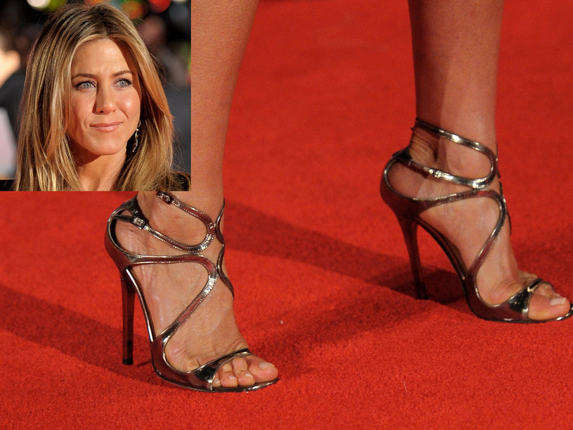 Buty Jennifer Aniston   /Getty Images/Flash Press Media