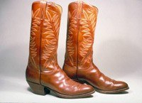 Buty kowbojskie Roberta Redforda. Fot. Bata Shoe Museum, Toronto /INTERIA.PL