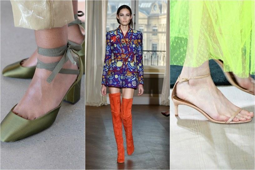 Buty na średnim obcasie? Tak, ale nie dla niskich kobiet /©123RF/PICSEL