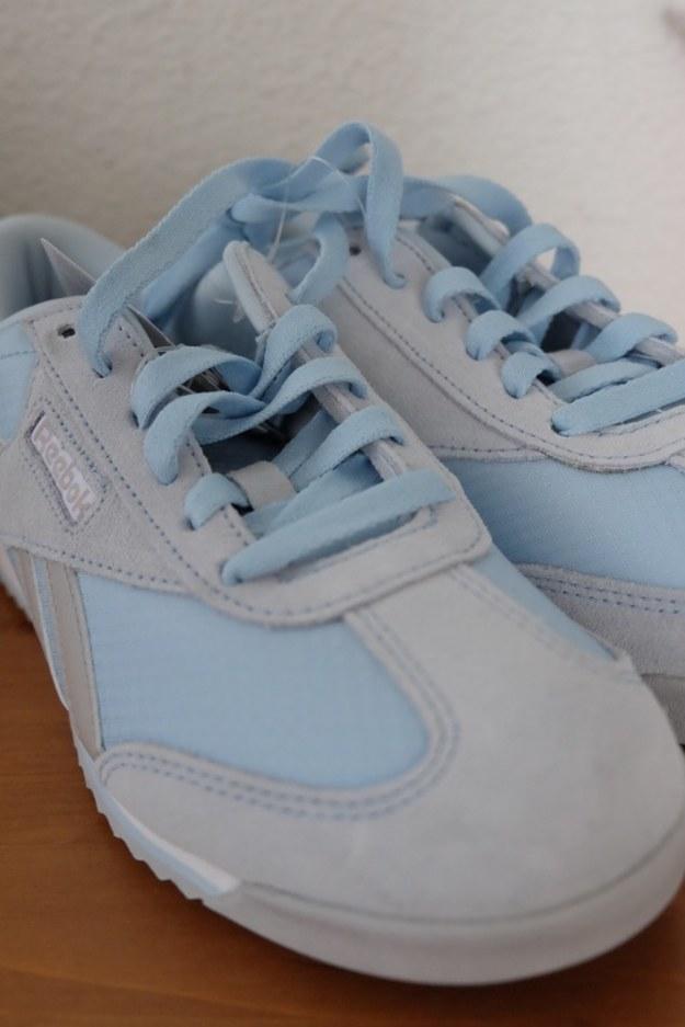 Buty w błękicie do biegania po… Ameryce…