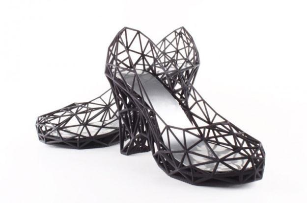 Buty z drukarki /materiały prasowe