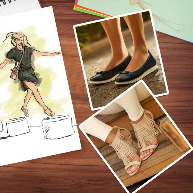 buty /materiały prasowe