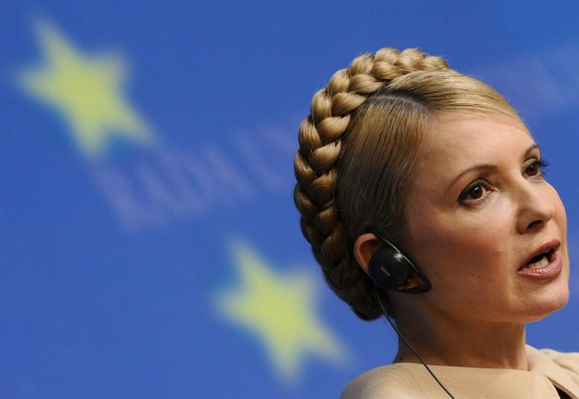 Była premier Ukrainy Julia Tymoszenko. /AFP