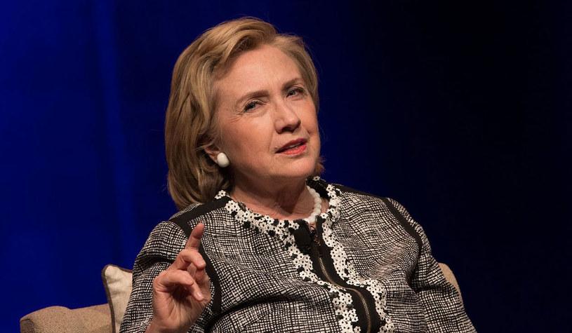 Była sekretarz stanu USA Hillary Clinton. /AFP