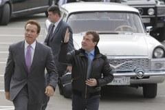 Były gwiazdor Hollywood z wizytą u prezydenta Rosji