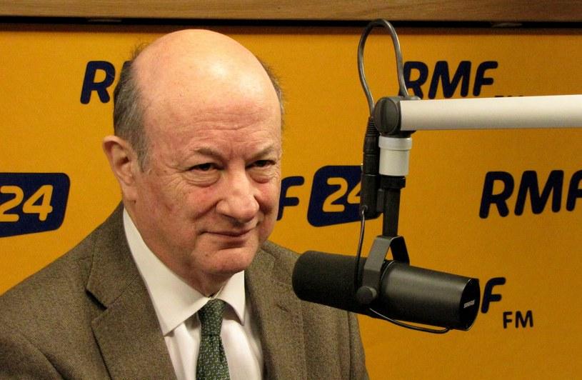 Były minister finansów Jacek Rostowski /RMF
