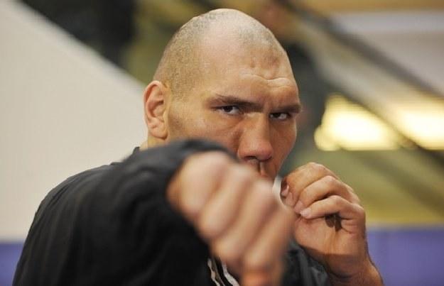 Były mistrz świata organizacji WBA w kategorii ciężkiej Nikołaj Wałujew /AFP