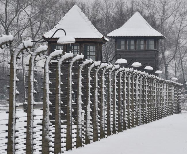 Były obóz Auschwitz II-Birkenau na terenie Państwowego Muzeum Auschwitz-Birkenau w Oświęcimi /PAP/Jacek Bednarczyk /PAP