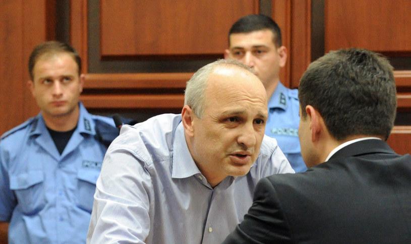Były premier Gruzji Vano Merabiszwili. /AFP