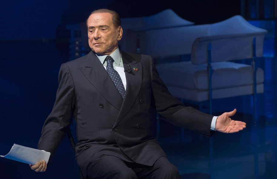 Były premier Włoch i lider Forza Italia Silvio Berlusconi /CLAUDIO PERI /PAP/EPA