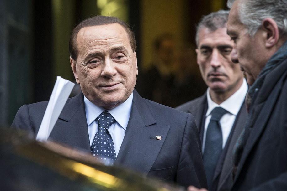 Były premier Włoch Silvio Berlusconi /ANGELO CARCONI /PAP/EPA