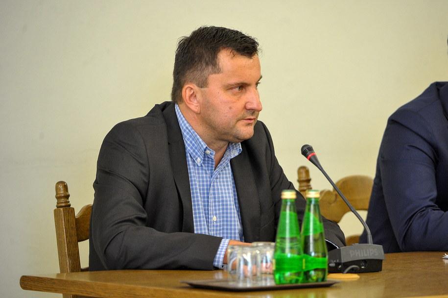 Były prezes zarządu OLT Express Poland oraz OLT Express Regional Andrzej Dąbrowski. /Marcin Obara /PAP