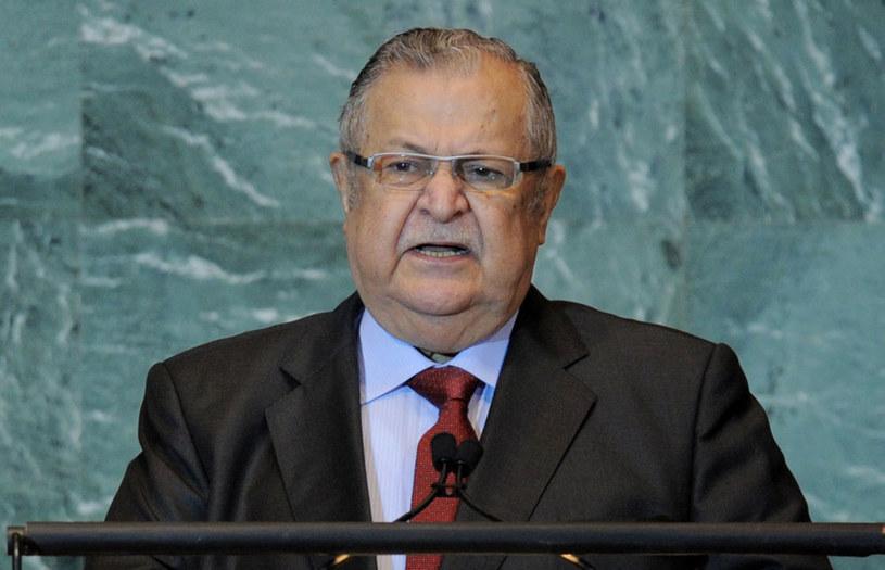 Były prezydent Iraku Dżalal Talabani nie żyje /STAN HONDA /AFP
