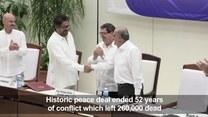 Były prezydent Kolumbii wzywa do zerwania porozumienia pokojowego