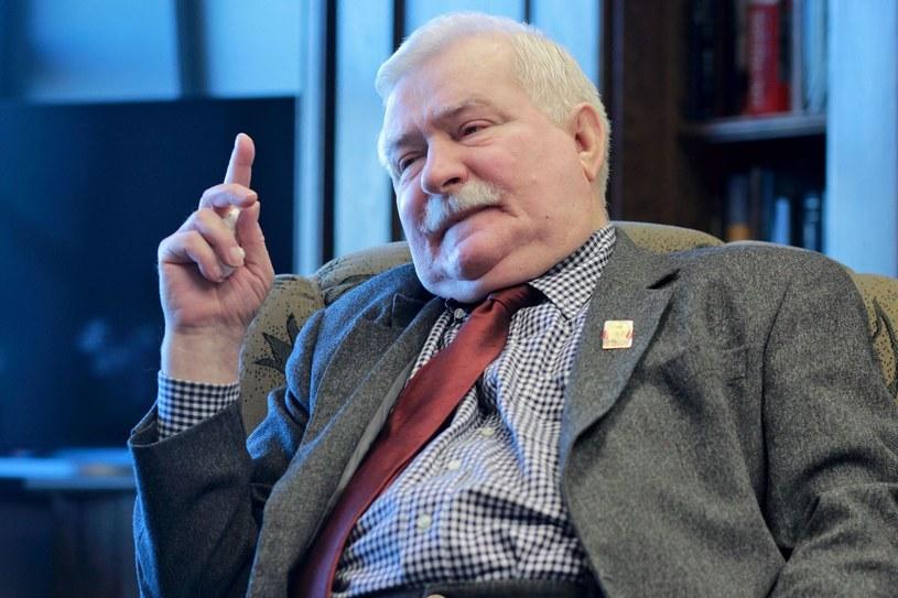 Były prezydent Lech Wałęsa /AFP