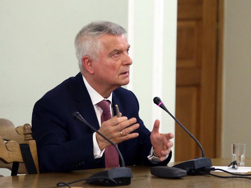 Były prokurator Ireneusz Tomaszewski /Tomasz Gzell /PAP
