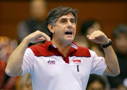 Były trener reprezentacji Polski siatkarzy Raul Lozano /AFP