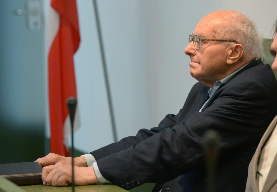 Były wicepremier PRL Stanisław Kociołek /Radek Pietruszka /PAP