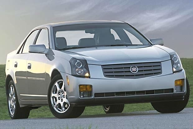 Cadillac CTS (kliknij) /INTERIA.PL