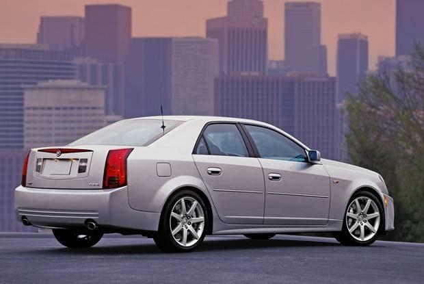 Cadillac CTS-V / Kliknij /INTERIA.PL
