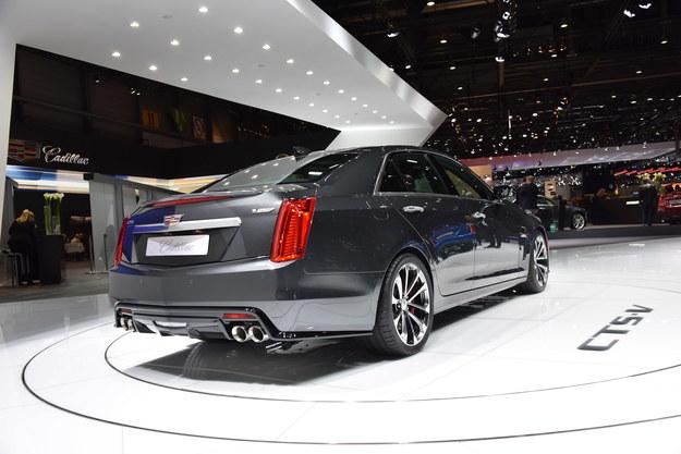 Cadillac CTS-V /Newspress