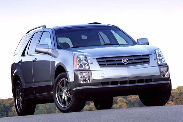 Cadillac SRX (kliknij) /INTERIA.PL