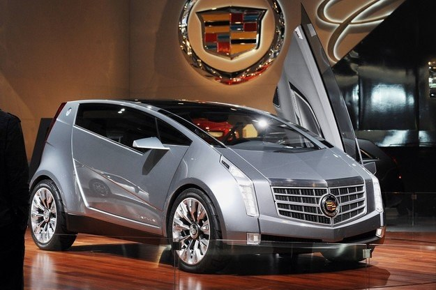 Cadillac urban luxury concept /AFP