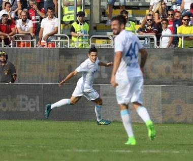 Cagliari - Chievo Werona 0-2. Gol Mariusza Stępińskiego w debiucie