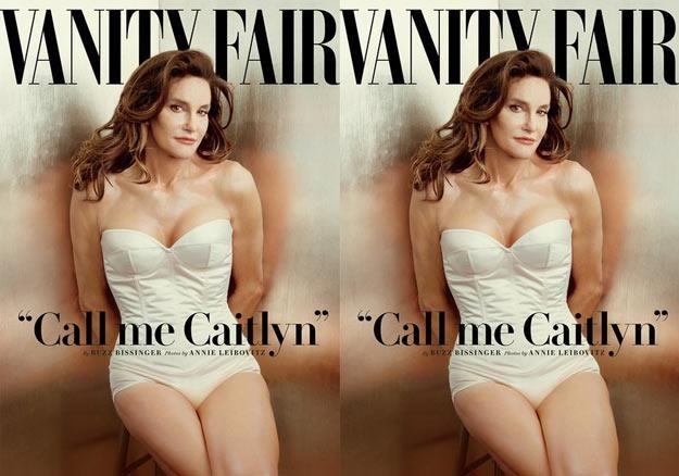 """Caitlyn Jenner na okładce """"Vanity Fair"""" /"""