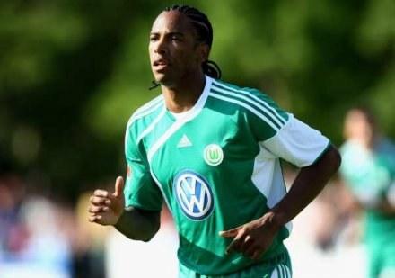 Caiuby strzelił siedem goli w drugiej połowie meczu Wolfsburga /AFP