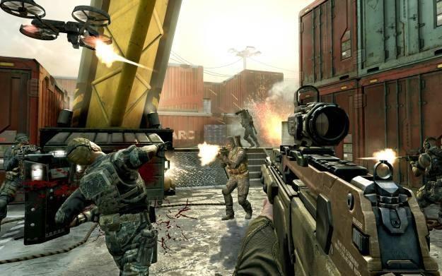Call of Duty: Black Ops 2 - motyw graficzny /Informacja prasowa
