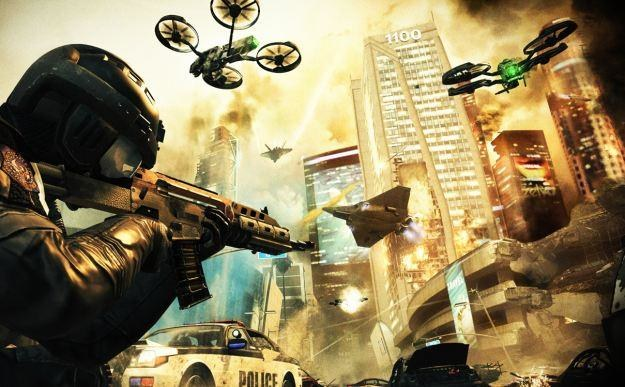 Call of Duty: Black Ops II - motyw graficzny /