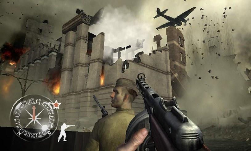 Call of Duty: Finest Hour - tak wyglądała pierwsza część legendarnej marki na konsolach /materiały prasowe