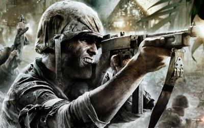 Call of Duty: World at War - fragment okładki z gry /Informacja prasowa