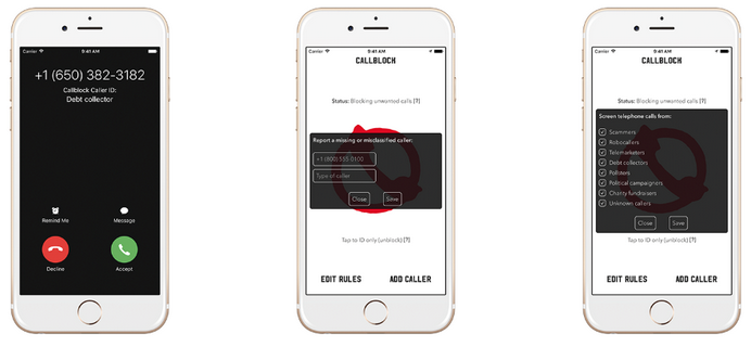 Callblock /materiały prasowe