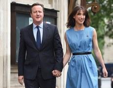 Cameron i jego żona już po głosowaniu