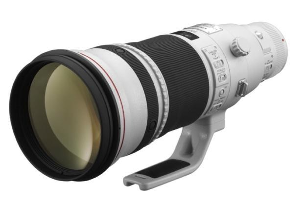 Canon EF 500mm F/4L IS II USM /materiały prasowe
