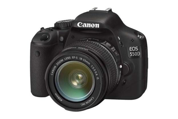 Canon EOS 550D - najlepszy europejski aparat wg. EISA /materiały prasowe