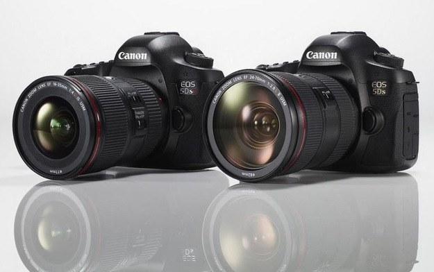 Canon EOS 5DS i 5DS R - najlepsze europejskie lustrzanki profesjonalne wg. EISA /materiały prasowe