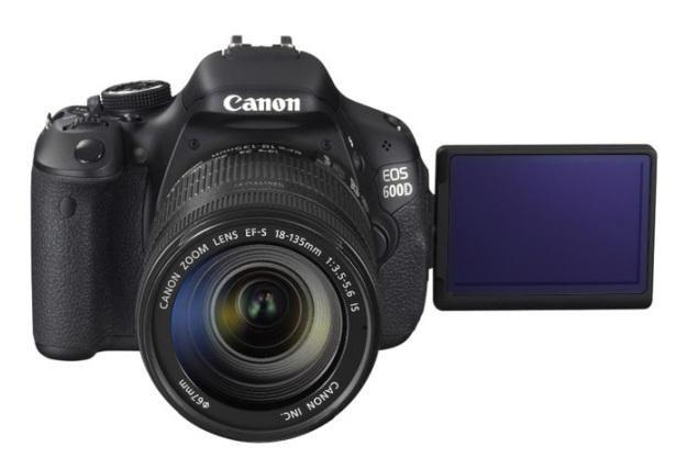 Canon EOS 600D - najlepszy aparat fotograficzny 2011 - 2012 wg. EISA /materiały prasowe