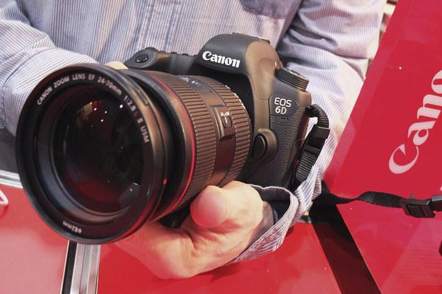 Canon EOS 6D - najlepsza lustrzanka profesjonalna wg. TIPA /INTERIA.PL
