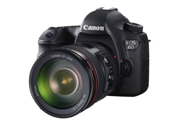 Canon EOS 6D - najlepsza zaawansowana lustrzanka 2013-2014 według EISA /materiały prasowe