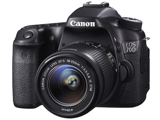 Canon EOS 70D /materiały prasowe