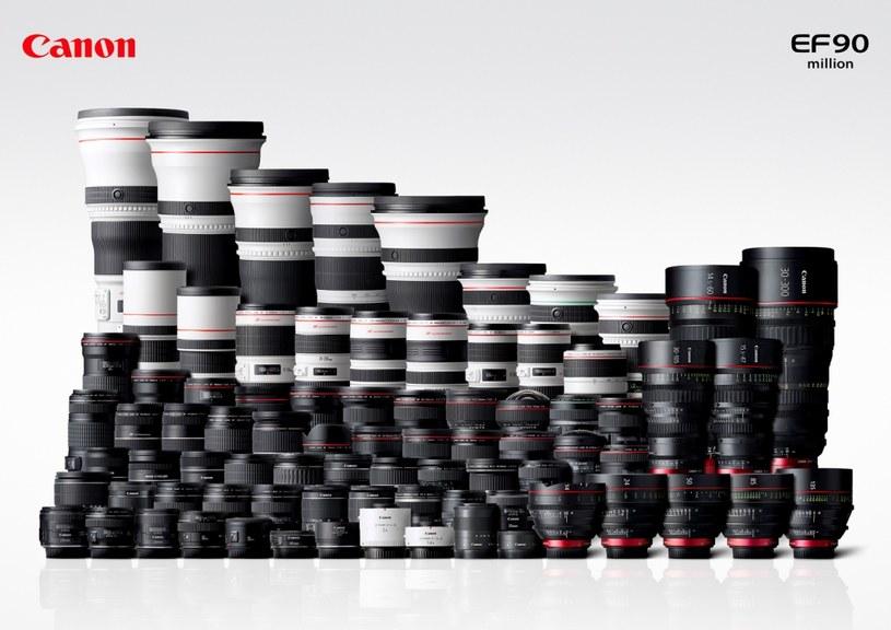 Canon wyprodukował 90 mln sztuk obiektywów EF /materiały prasowe