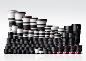 Canon wyprodukował ponad 100 mln wymiennych obiektywów